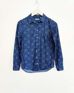 Uniqlo Denim Top