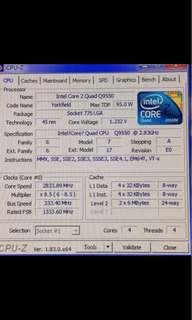 🚚 inetl core2 q9550 2.83GHZ
