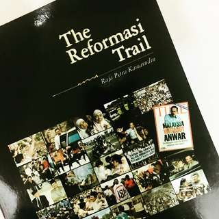 REFORMASI TRAIL Coffee Table Book