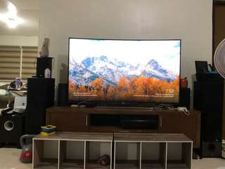 "SONY 65"" curved 4k smart tv"
