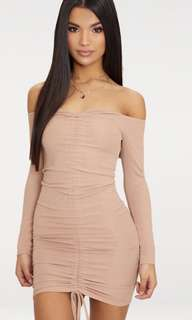 Pretty Little Thing Ruched Dress