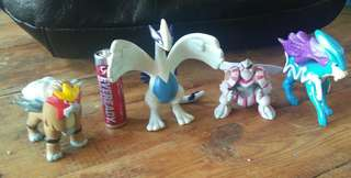 Original Tomy Nintendo Pokemon figures