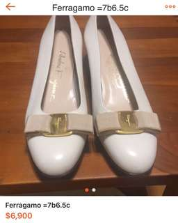 🚚 Ferragamo 經典蝴蝶結鞋