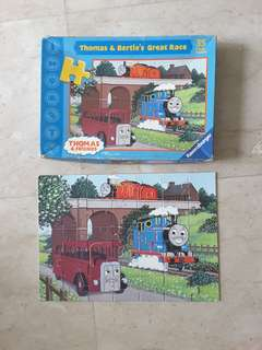 Thomas & Friends & Bertie Great Race 35 pc jigsaw puzzle 4 years up 30x21cm