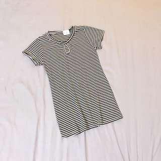 #ramadan50 Stripey Tee Dress