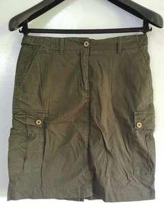 Aigle Military Skirt