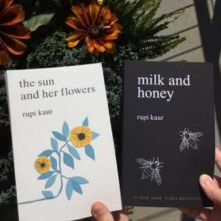 ~IN STOCK NOW~BN Milk and Honey / The Sun and Her Flowers by Rupi Kaur