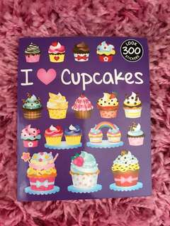 300 Mini Stickers < I 💜Cupcakes >