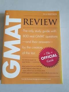 GMAT REVIEW 11 EDITION