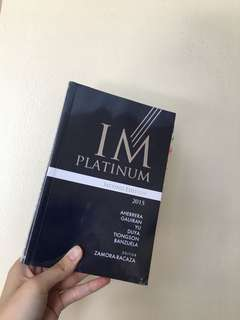 IM Platinum Second Edition (2015)