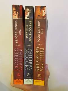Books by Philippa Gregory, SAVE $40!!