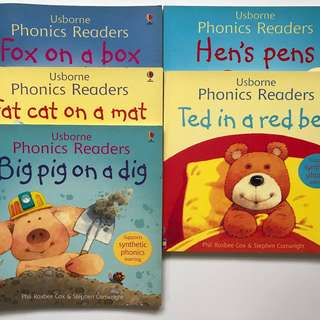 Usborne Phonics Readers (5 Books)