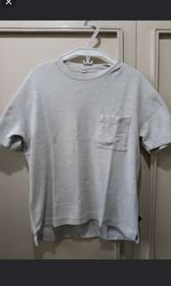 Original Uniqlo Oversized T-Shirt Grey