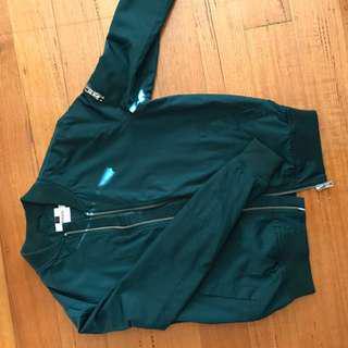 Bomber Jacket Green Small