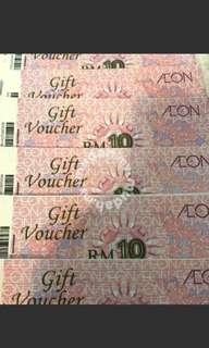 50% off AEON voucher