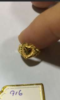 916 Gold Ring baby