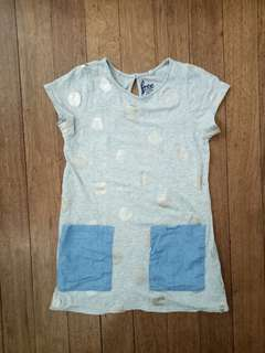 Shirt dress polka dot