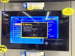 Tv LG 43inc digital TV bisa credit tanpa kartu credit