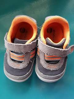Stride Rite Caden Grey Shoes