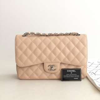 Authentic Chanel Classic Jumbo Flap Bag
