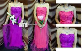 Evening Gown (Pink / Purple)