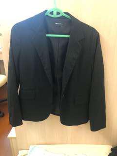 Net 條紋西裝外套