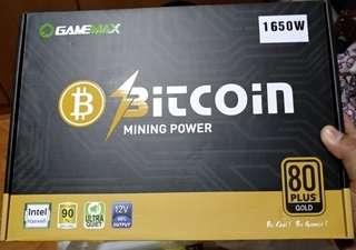Gamemax 1650W mining PSU atx cpu 1070 ti 1050 ti 1080 ti rx580 vega 64 radeon