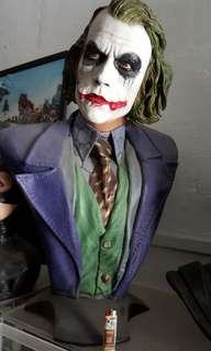 Joker life size bust statue (orginal without box)