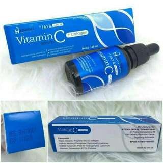 New serum vitamin C + collagen Jaya Mandiri (Hanasui)