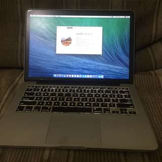 Macbook pro retina 2013 fullset