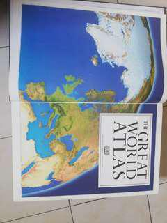 THE GREAT ATLAS OF THE WORLD