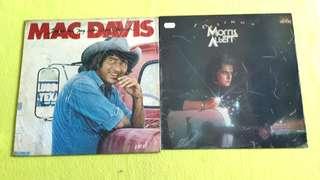 MORRIS ALBERT . feelings ● MAC DAVIES . texas in my rear view mirror. (buy 1 get 1 free )  vinyl record