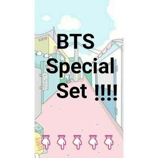 BTS SPECIAL SET