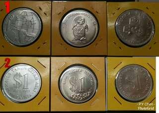 SyilinG Peringatan Malaysia $1 (3pcs)