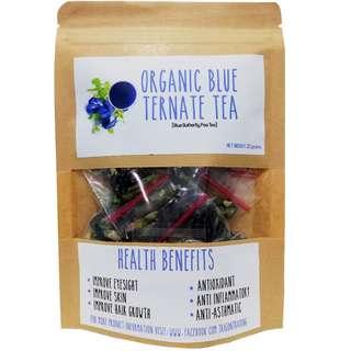 Blue Ternate Tea (Clitoria Ternatea)