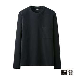 Sweater Uniqlo Pocket Original Murah