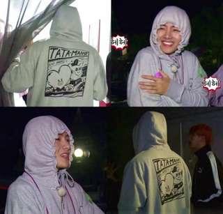 RUN BTS Tata / Mang Hoodie