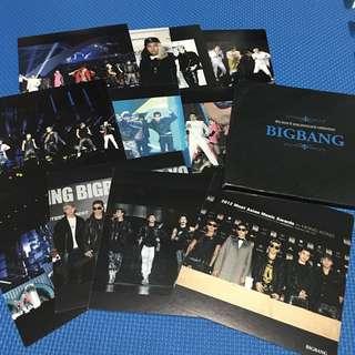 BIGBANG 11張 postcard