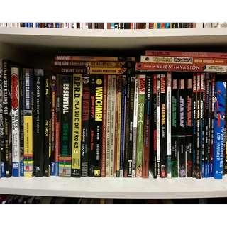 Various Graphic Novels/Comics [UPDATED]