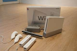 Nintendo Wii full set with games