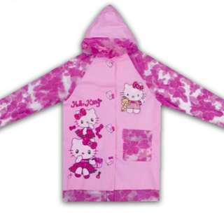 Kids character raincoat