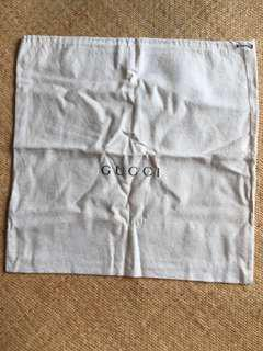 Gucci dust bag 塵袋