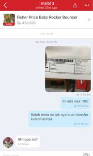 Delivery Statement & Customer's Testimony