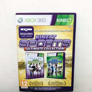 KINECT SPORTS Ultimate Collection (XBOX 360)