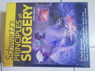 SCHWART'S PRINCIPLES OF SURGERY 9TH EDITION