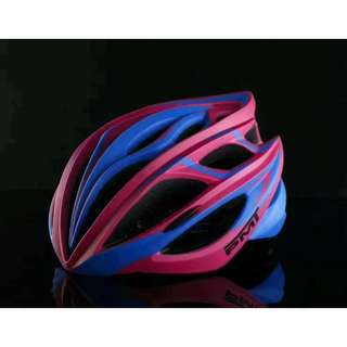 💯🆕PMT Bicycle/Cycling Helmet with Ultralight Breathable Design Mountain/Road Bike Helmet (Pink+Blue)