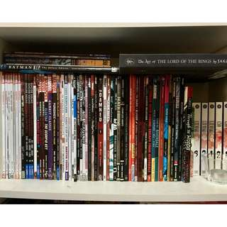 Various Graphic Novels/Comics [UPDATED]