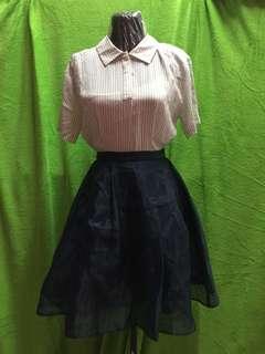 Stripes Doll dress