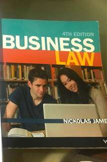 Commercial law textbook