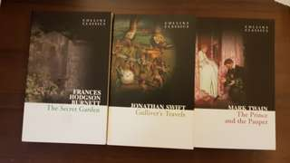 Collins classics. Read and kept in cupboard.